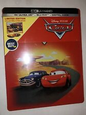 Cars 4K  Blu-Ray Limited Edition Steelbook Bestbuy Exclusive New