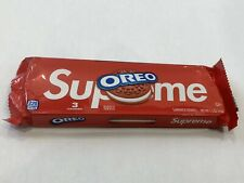 Brand New Supreme Oreos 1 Pack 3 Cookies SS20 Deadstock Free Sticker!!!