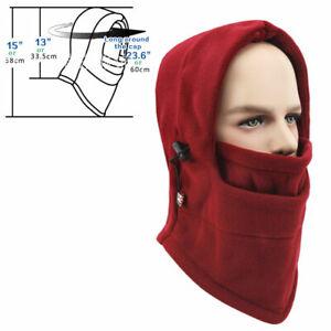 Men Women Thermal Cap Winter Full Face Mask Cold Weather Windproof Ski Sport Hat