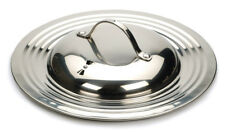 RSVP Endurance 18/8 Stainless Steel Universal Fry/Sauté Pan Lid