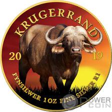 BUFFALO Krugerrand Big Five 1 Oz Silver Coin 1 Rand South Africa 2019