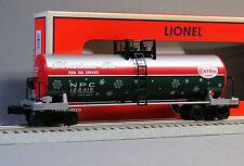 LIONEL CHRISTMAS UNIBODY TANK CAR #122416 o gauge train santa tanker 6-83308 NEW