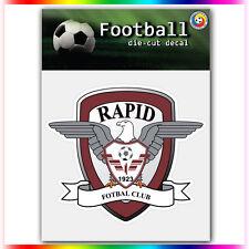 "FC Rapid Bucuresti UEFA Die Cut Vinyl Sticker Car Bumper Window 3.6""x4"""