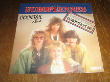 EUROVISION 1986 45 TOURS GERMANY COCKTAIL CHIC