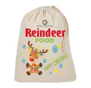 Reindeer Food bag  Magic food Xmas Eve Santa Kids Gift Xmas Christmas Eve cute