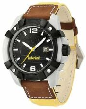 Timberland Chocorua Mens Date Display Watch 13326JPGYB/02  Leather STRAP RRP£109