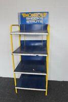 Monroe Shocks And Struts Auto Part Store Display Metal Shelf Unit & Sign