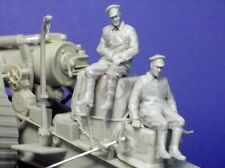 Resicast 1/35 2 Seated Soldiers & Stowage Set for British 8-inch Howitzer GBS018