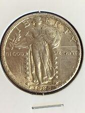 1928 P Standing Liberty Quarter AU/BU High Grade//Full Head Original Choice