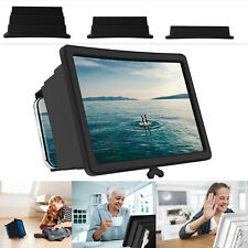 Universal Mobile Phone Screen Amplifier 3D HD Video Magnifier Bracket Stand Hold