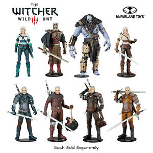 McFarlane Toys The Witcher 3: Wild Hunt Action Figure *Your Choice* BNIB
