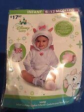 Halloween Costume Girls Infant Disney Baby Marie Size 6-12 Months