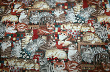 ADORABLE KITTENS - 100% COTTON FABRIC