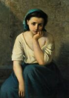 """high quality oil painting handpainted on canvas """"maiden"""""""