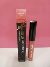 bareMinerals Marvelous Moxie Lipgloss Full Size New in Boxed - Birthday Babe