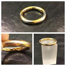 Bicolor Platinring mit Gelbgold Niessing 950 er Platin und Gold AU Gr. 53