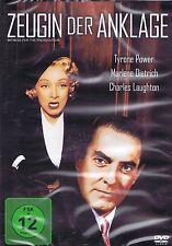 DVD NEU/OVP - Zeugin der Anklage - Tyrone Power & Marlene Dietrich