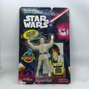 Vintage - Star Wars - Luke Skywalker -  Bend Ems figure - JusToys - 1993 - NEW
