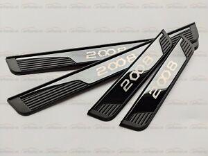 für Peugeot 2008 Zubehör Teile Car Schutz Beschützer Einstiegsleisten Styling 20