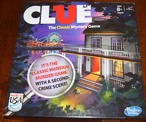 Clue The Classic Mystery Board Game Replacement Parts & Pieces 2013 Hasbro
