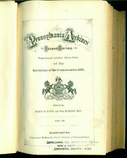 Pennsylvania Archives Second Series, Vol. 3: Marriages, Naturalizations, etc.