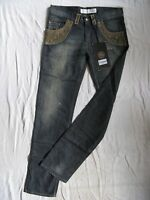 IMPERIAL Men Blue Jeans W32/L34 size 48 medium waist regular fit straight leg