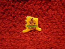 """Alaska """"Prospector"""" Pin Made in USA  circa 1990s"""