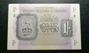 GREECE BRITISH MILITARY 1944 ONE SHILLING VF