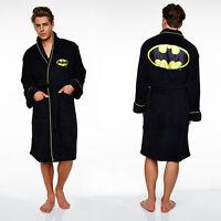 Batman Dressing Gown FLEECE / Bathrobe - Mens (bath robe, gifts for men, bat man