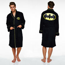 Batman Dressing Gown FLEECE / Bathrobe - Mens (bath robe, gifts for men, bat man