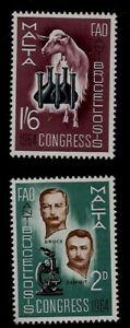 Microscope Anti Brucellosis Medicine Research Bruce Zamit Mint Malta Stamps 1964