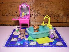 Vintage Littlest Pet Shop Splash Happy Puppies 1993 Kenner