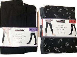 Girls Leggings Individual Or Two Pck, Quality Kirkland Signature. School Uniform