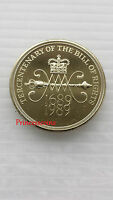 1989*UNC*TERCENTENARY BILL OF RIGHTS £2 TWO POUND COIN