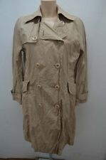 LEWINGER IMPER MANTEAU COAT TRENCH 1 36 S BEIGE