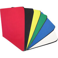 Fabric Mouse Mat Pad Blank Mouse Pad 5mm Thick Non Slip Foam 25cm x 21cCHP
