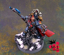 Warhammer 40k Space Wolves Lord Krom Dragongaze  M-1 pro-painted