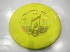 Used Westside Discs Bt Hard Harp Disc Golf Putter Yellow / Gold 173G @ Lsdiscs