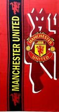 Manchester United FC Crest Beach Gym Bath  Towel Cotton 100% NWT