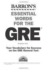 Essential Words for the GRE (Barrons Essential Words for the GRE) by Philip Gee