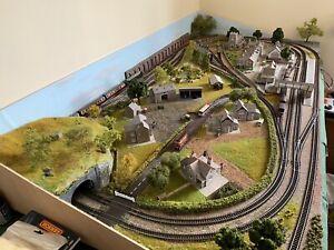 N gauge dcc Railway layout.
