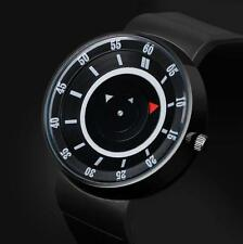 Men's Sports Watch Concept Stainless Steel Analog Quartz Wrist Watch Black US