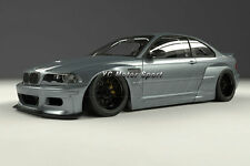 FRP PD RB Style Front Over Fender For 98-05 BMW E46 3 Series & M3