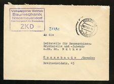 DDR-DIENST ZKD-BRIEF BAUMECHANIK HENNIGSDORF 19.11.1964 !!! (953459)