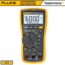 Fluke 117 True RMS Digital Multimeter Volt Alert Detector Function + Test Leads