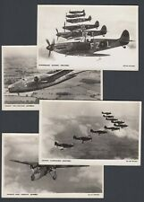 More details for vintage eight postcards photographic rppc aviation photochrom britain prepared