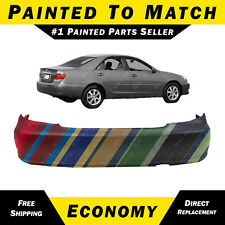 NEW Painted To Match Rear Bumper Cover for 2002-2006 Toyota Camry SE LE XLE Base
