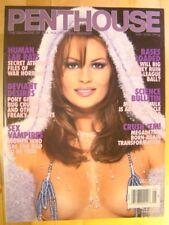 Penthouse Magazine May 2000 Nikki Anderson Sex Vampires Megadeath