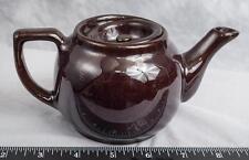 Vintage Brown Coffee Tea Pot Porcelain jds