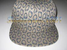 Supreme Irons Snapback hat Comme des Garcons 5 Panel SB Blazer Box Logo Tan